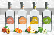 Fruit vodkas 45 ° (Apple, Apricot, Peach, Pear) Yerevan