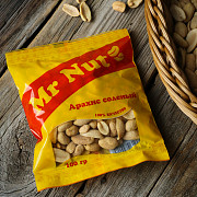 Mr Nut salted peanuts 100 gr Delivery from Yerevan