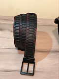 Beautiful and high quality belts made of genuine python leather. Delivery from Yerevan