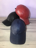 Caps made of genuine python leather Delivery from Yerevan